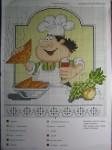 Этого повара вышивала в подарок сыну на день рождения.  Серия Кулинарный техникум от Русского Фаворита.