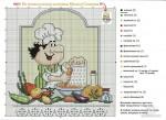 вышивка крестом для кухни схема - Сайт о бисере.
