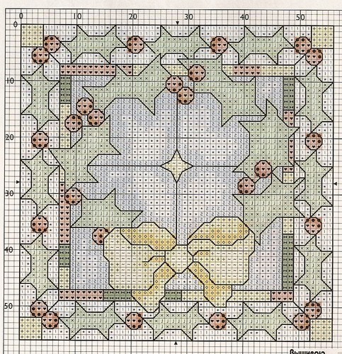 Золотая игла.ру - Схемы для вышивания крестом.Бискорню, игольницы.