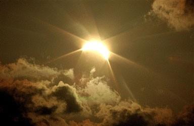 солнечное затмение в Атырау