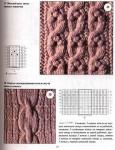 схемы вязания жгутов аранская техника вязания. схемы вязания жгутов аранская техника вязания 8.