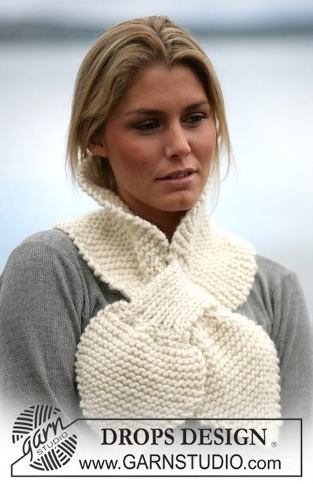 Для вязания манишки вам потребуется: 100 г меланжевой пряжи REGIA...