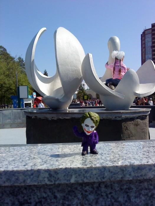Joker-6 фонтане без воды