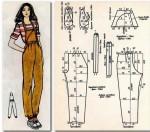 комбез из вельветовой или джинсовой ткани размер 164 92 100