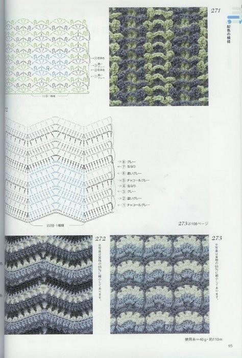 Рисунки для вязания крючком. рисунки для вязания спицами.