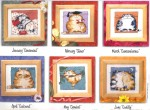кошачий календарь 1-6