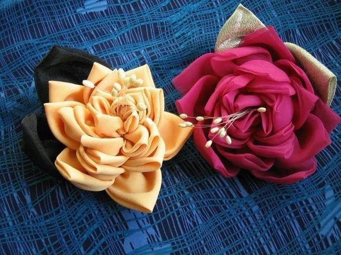 Как сделать из ткани красивую ткань
