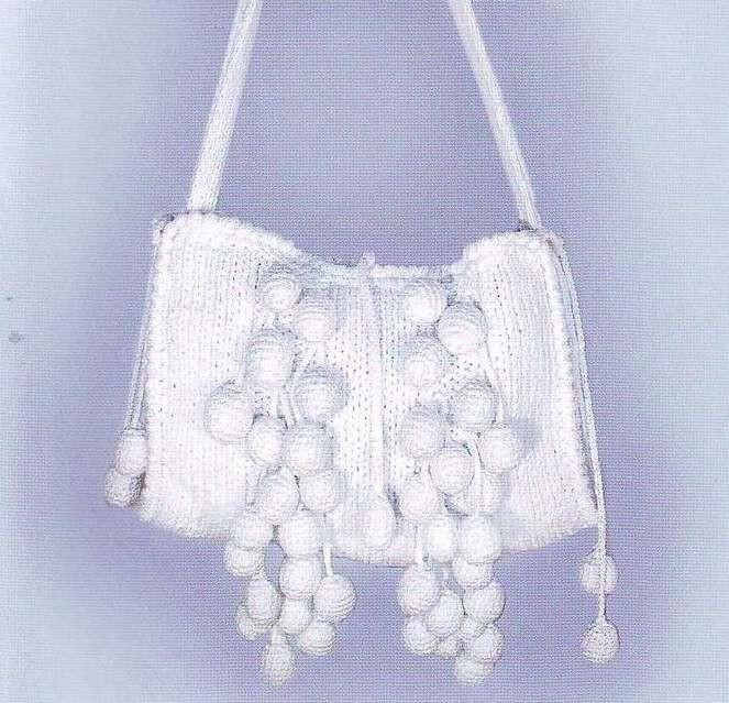 вязание сумок со спицами со схемами.