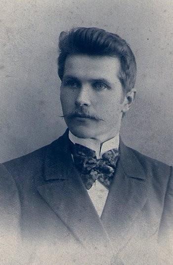 Ок. 1910.Мой дед Кузьма Вас. Васильев