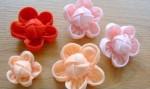 Re: Мастер-класс Цветы из ткани (флиса)