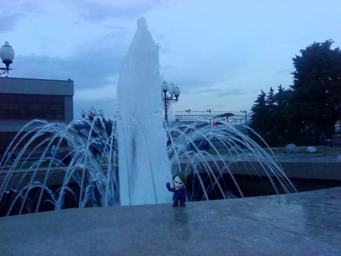 Joker-6 снова в фонтане