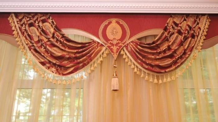 Дизайн штор, самые красивые шторы.  Не.