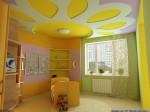 Можно смонтировать очень красивый потолок для детской спальни с помощью...