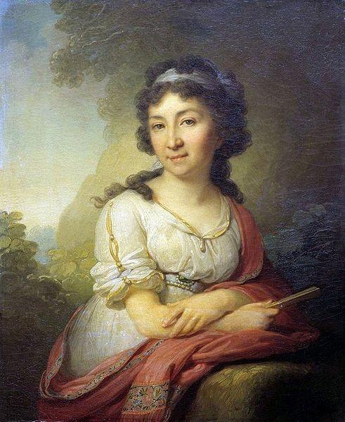 Портрет Екатерины Васильевны Торсуковой, ур.Перекусихиной Date   1795