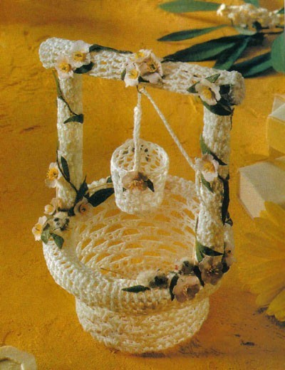Метки: вязание для дома.  Юлия Литвинова.  5. Комментариев.  Схема.