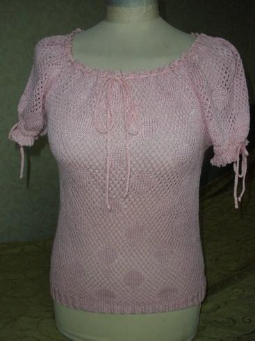 Машинное вязание панчлейс