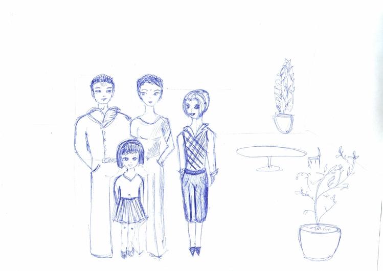 рисунок семьи методика: