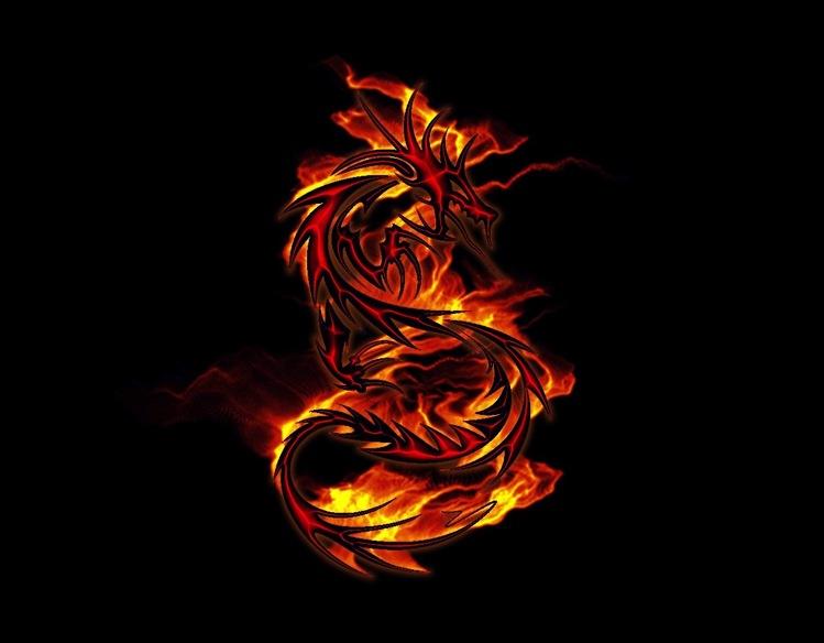 Огненный дракон на ваз