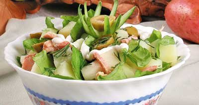 салат из куры с шампиньонами. распечатать рецепты салатов с фото.
