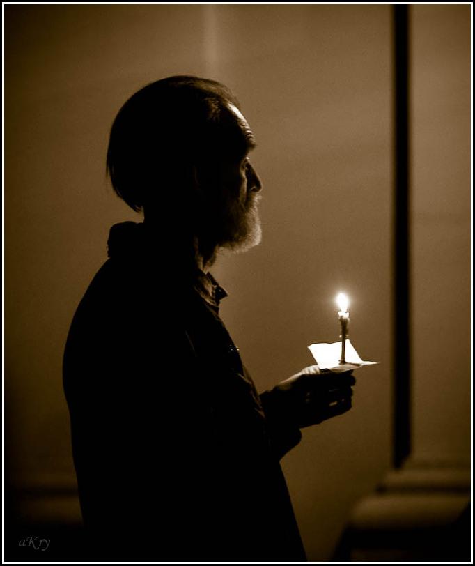 В молитве