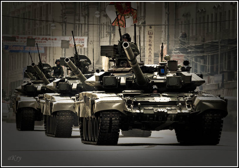 Танки Т-90 «Владимир»