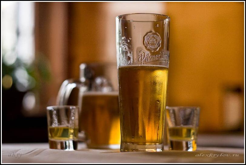 Пиво и бехеровка. Прага…