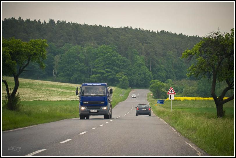 Безобочинные европейские дороги