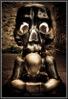 Скульптура с черепом…