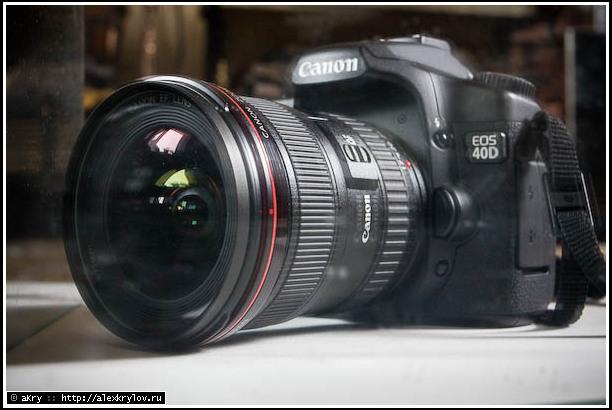 EF 17-40 f4.0L — автопортрет