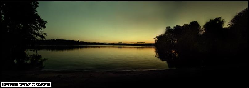 Ночь на озере Malaren