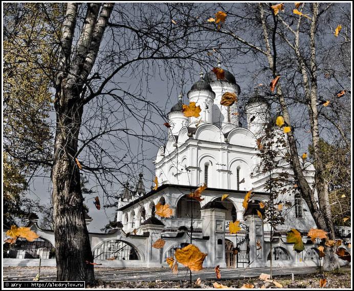Спасо-Преображенская церковь села Большие Вязёмы Одинцовского района