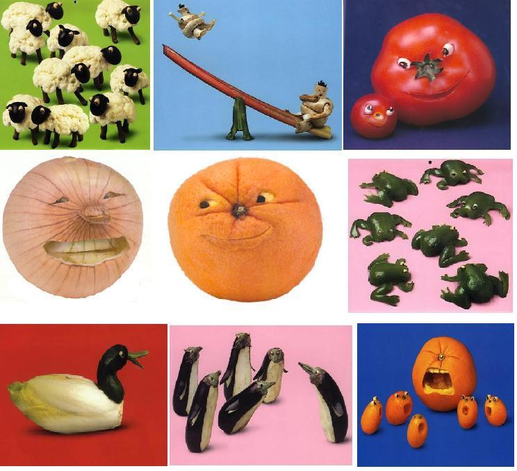 Как обработать овощи для поделки 159