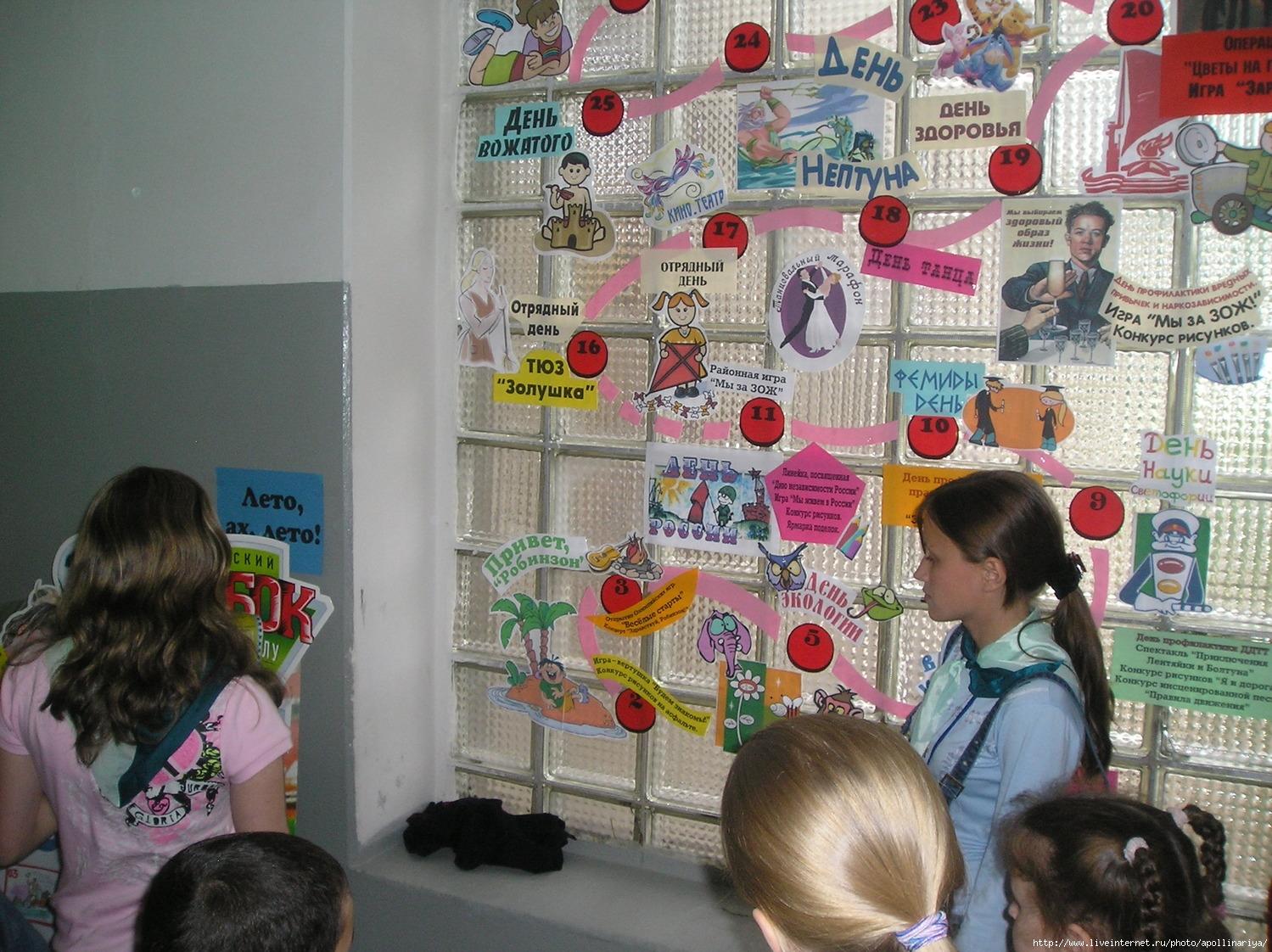 Сценарий мероприятия для детей в лагере дневного пребывания