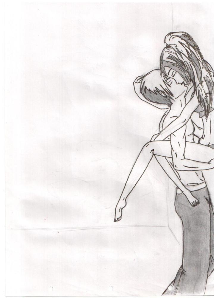 Фото рисованных поцелуев