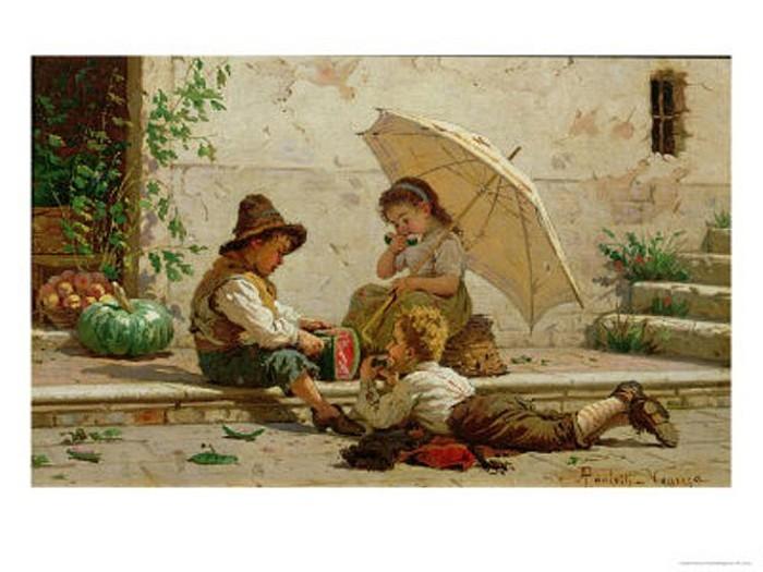 Enfants vénitiens.