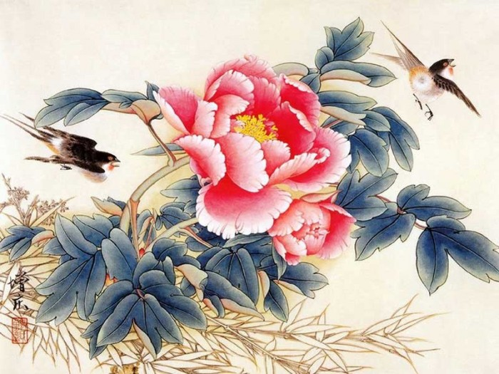 Chinese Painting Art.