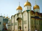 Успенский собор на протяжении шести столетий был государственным и культовым центром России: здесь поставляли великих князей, а удельные присягали им на верность, венчали на царство, короновали императоров. В Успенском соборе возводили в сан епископов, ми