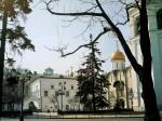 Грановития палата, Успенский собор и стена Колокольни Ивана великого.