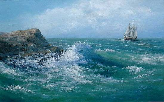 Живопись морские пейзажи портретист