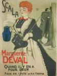 Adrien Barrere. Scala Marguerite Deval