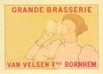Andre L.A. Rassenfosse. Grand Brasserie, Maitres de l'Affiche