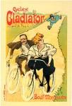 Cycles Gladiator, Maitres de l'Affiche plate 86