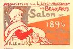 Emile Berchmans. Salon de 1896, Maitres de l'Affiche