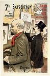 Frederic-Auguste Cazals. Salon des Cent, Maitres de l'Affiche