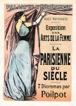 Jean-Louis Forain. La Parisienne du Siecle, Maitres de l'Affiche