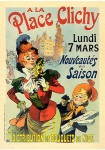 Rene-Louis Pean. Place Clichy, Maitres de l'Affiche