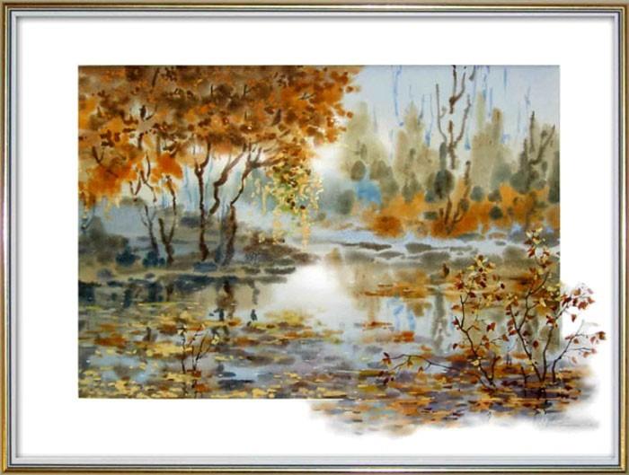 Цветущий пруд