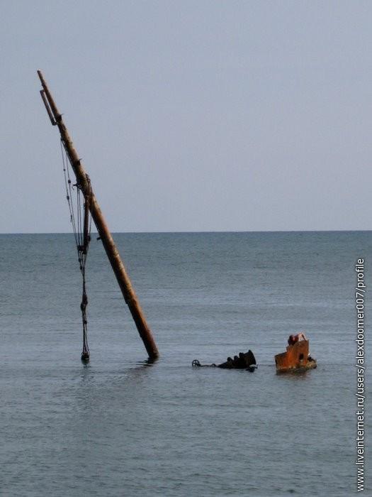 5.Затонувший танкер