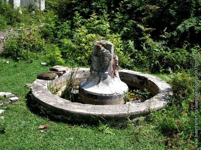 29.Бывший фонтан