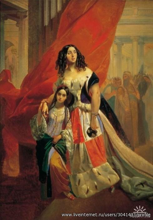 сочинение по картине к брюллов портрет сестер шишмарвых